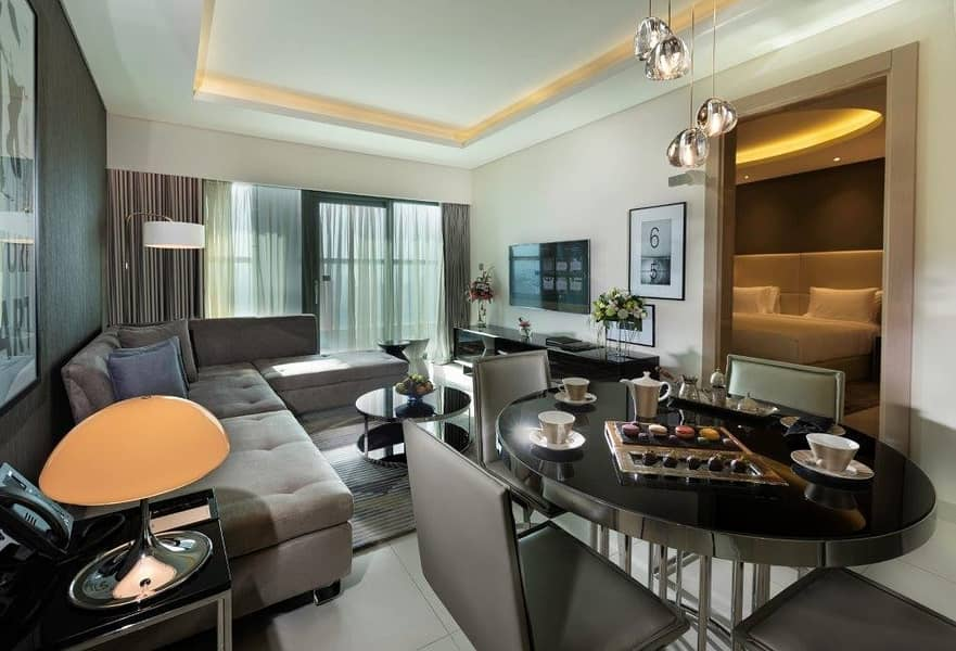 2 Paramount Luxurious fully furnished  Premium location  view on canal and to Burj khalifa