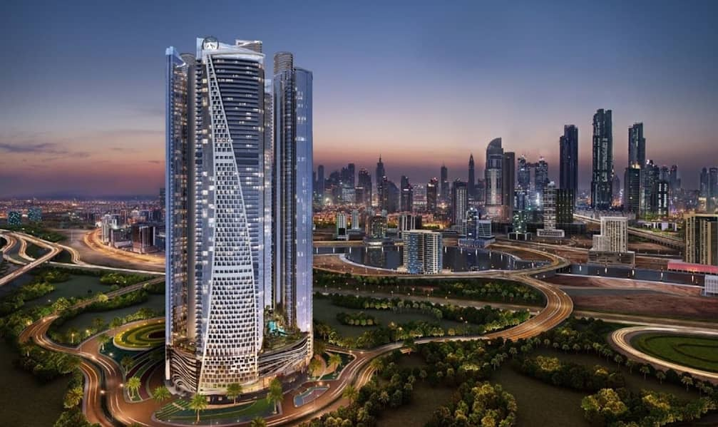 Paramount Luxurious fully furnished  Premium location  view on canal and to Burj khalifa