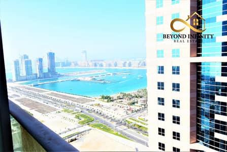 3 Bedroom Flat for Rent in Dubai Marina, Dubai - Sea View   3 Bedroom + Maids Room   2 Huge Balcony