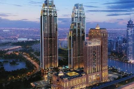 شقة 4 غرف نوم للبيع في الخليج التجاري، دبي - Panoramic Views |  4BR On High Floor | Noora Tower Habtoor City