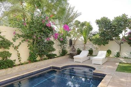 فیلا 3 غرف نوم للايجار في جميرا بارك، دبي - Extended   Corner w/ Pool   Landscaped - Avail 1st Aug