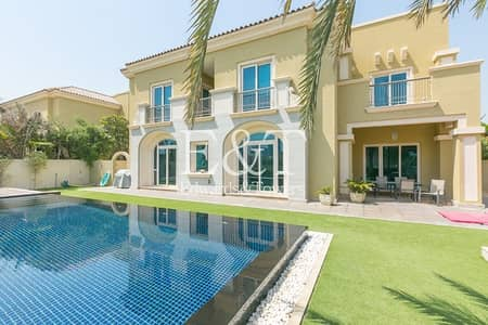 5 Bedroom Villa for Sale in Dubai Sports City, Dubai - B1 | Stunning Golf Views | Carmen | Infinity Pool