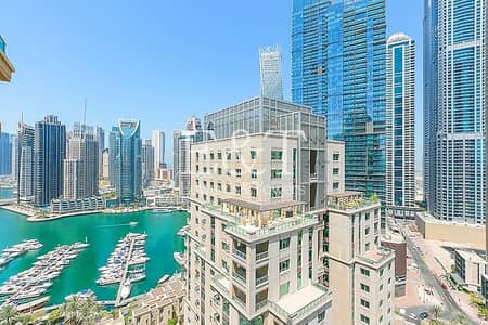1 Bedroom Flat for Sale in Dubai Marina, Dubai - Fully Upgraded | Vacant | High Floor | Marina View