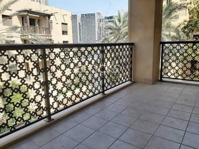 شقة 1 غرفة نوم للايجار في المدينة القديمة، دبي - 1 Bedroom Aprt. | Old Town | Spacious Balcony