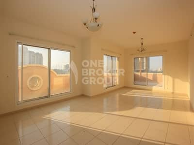 2 Bedroom Flat for Sale in Jumeirah Village Circle (JVC), Dubai - Largest 2 Beds with Amazing Huge Terrace