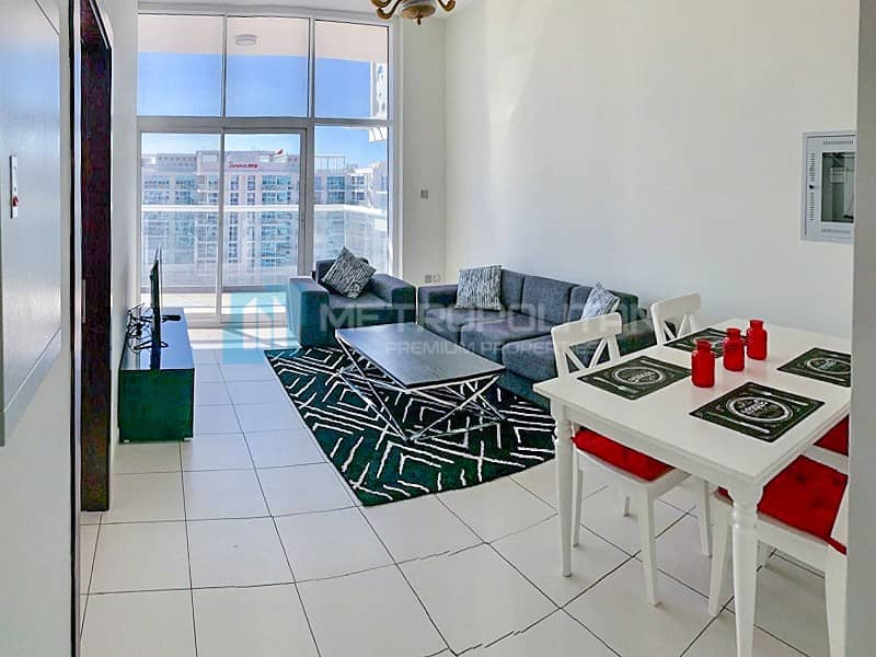 Fully Furnished | Large Balcony | Well maintained