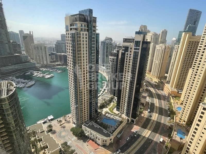 2 Fully Furnished I2BR High FloorI Full Marina view
