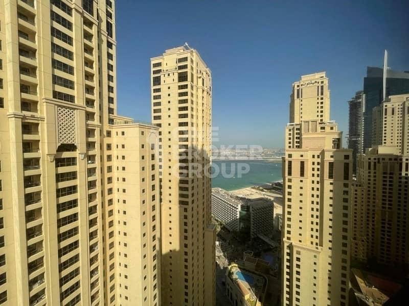 14 Fully Furnished I2BR High FloorI Full Marina view