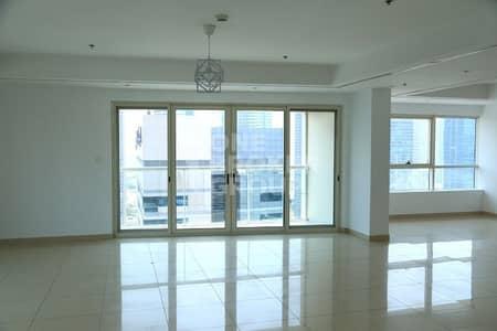 فلیٹ 4 غرف نوم للايجار في دبي مارينا، دبي - Upgraded 4 BR + maids with terrace and pool