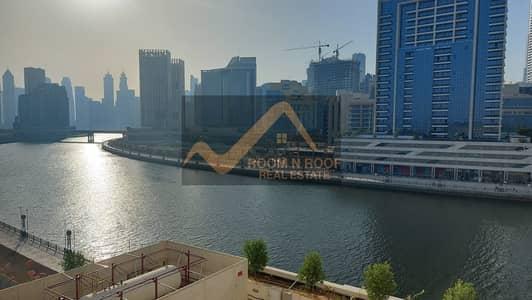 فلیٹ 1 غرفة نوم للايجار في الخليج التجاري، دبي - Full Canal View | Specious 1Br | Business Bay