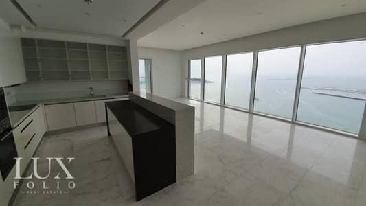 فلیٹ 2 غرفة نوم للايجار في جميرا بيتش ريزيدنس، دبي - Unique Corner Unit | 2 Bedroom | Private Beach