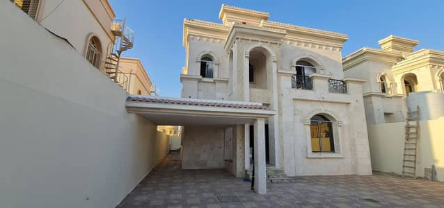 5 Bedroom Villa for Sale in Al Mowaihat, Ajman - Modern design Brand New 5-Bedroom Villa for sale | | Free Hold For all Nationalities   in  Al Mowaihat 2 Ajman