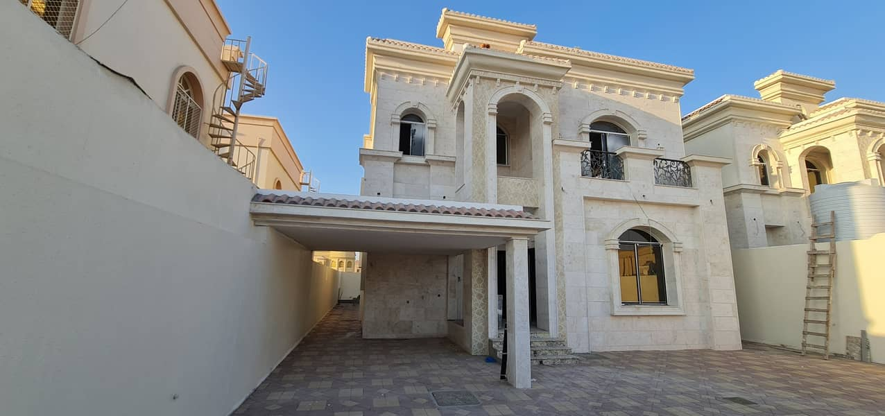 Modern design Brand New 5-Bedroom Villa for sale | | Free Hold For all Nationalities   in  Al Mowaihat 2 Ajman