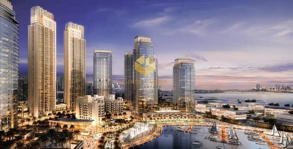 بنتهاوس 4 غرف نوم للبيع في ذا لاجونز، دبي - Scaling the Heights of Creek Harbour View | Penthouse