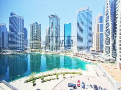 Office for Rent in Jumeirah Lake Towers (JLT), Dubai - Exclusive! Fitted and Partitioned  Lake View