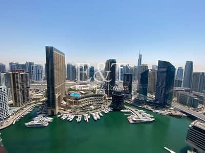 شقة 3 غرف نوم للايجار في دبي مارينا، دبي - Fantastic|Furnished|Luxurious |Full Marina View
