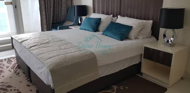 استوديو  للايجار في الخليج التجاري، دبي - Fully Furnished Spacious Studio for Rent in Bays Edge