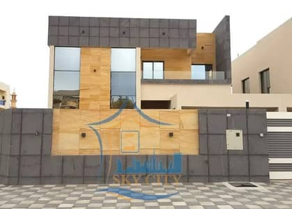 5 Bedroom Villa for Sale in Al Mowaihat, Ajman - European villa for sale at an attractive price Without down payment and bank financing The best real estate agents Owns the villa of a lifetime at a price of a shot and all the facilities Modern villa freehold without down payment At a great price