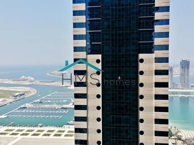 1 Bedroom Apartment for Rent in Dubai Marina, Dubai - 1BR | Nicely Furnished | Pinnacle Tower | Vacant