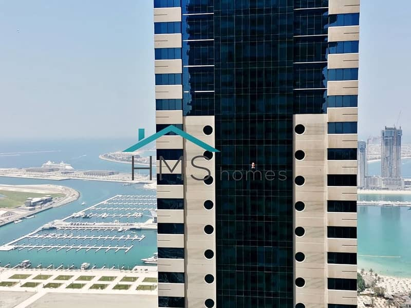 2 1BR | Nicely Furnished | Pinnacle Tower | Vacant