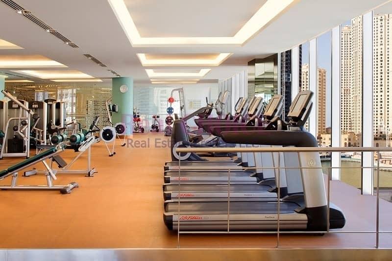 10 Full Marina View|Luxury Furnished Studio|Vacant