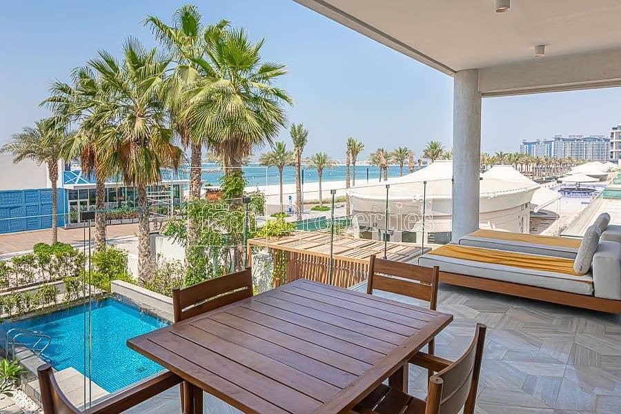 2 3 BR Villa | Beachfront | Private Pool & Terrace