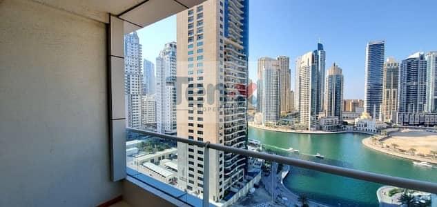 فلیٹ 2 غرفة نوم للايجار في دبي مارينا، دبي - Fully Upgraded| 2BR Apt| Lovely View of Marina