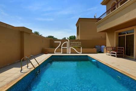 فیلا 4 غرف نوم للبيع في حدائق الجولف في الراحة، أبوظبي - Spacious Luxurious 4 BR Villa with Pool Vacant Soon