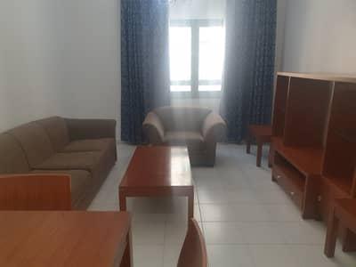 شقة 1 غرفة نوم للايجار في شارع ليوا، أبوظبي - Living Room
