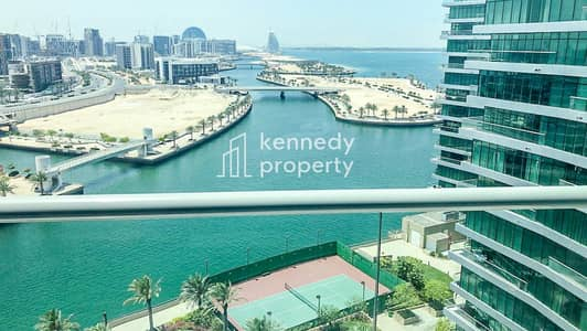 2 Bedroom Apartment for Sale in Al Raha Beach, Abu Dhabi - Sea View I Upgraded Unit I Vacant on Transfer