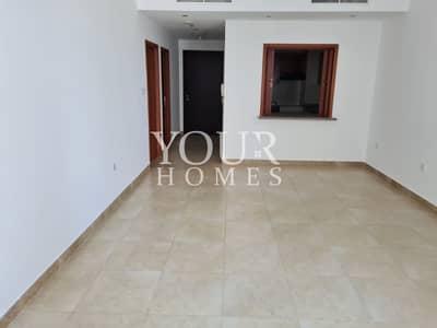 فلیٹ 1 غرفة نوم للايجار في دبي مارينا، دبي - Spacious bedroom apartment in Mag 218