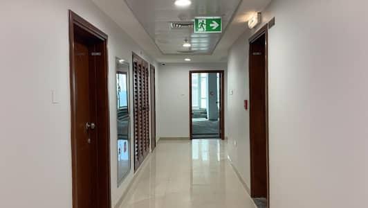 مکتب  للايجار في التعاون، الشارقة - Direct from Owner -Full Commercial Floor Available in Al Taawun Street