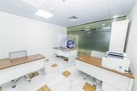 Office for Rent in Business Bay, Dubai - Furnished Office/All Utilities Included/Free Parking/No Commission