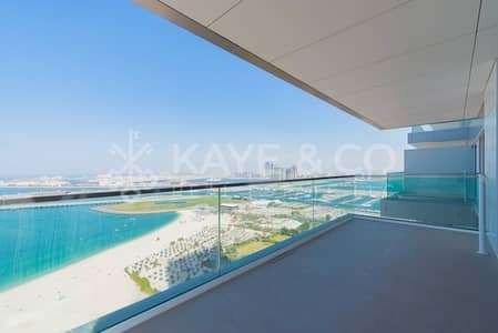 شقة 3 غرف نوم للبيع في جميرا بيتش ريزيدنس، دبي - Sea View | Well Maintained | with Balcony