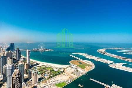 بنتهاوس 6 غرف نوم للبيع في دبي مارينا، دبي - Best Sunset View  |High Floor | Panoramic  Palm & Marina View