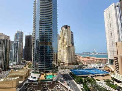 1 Bedroom Flat for Rent in Dubai Marina, Dubai - Sea and Marina Views | Fully Furnished | Spacious 1 Bedroom