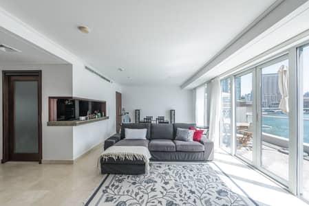 1 Bedroom Flat for Rent in Dubai Marina, Dubai - Fabulous Marina Views | Spacious Home with Terrace