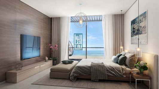 Studio for Sale in Sharjah Waterfront City, Sharjah - 1Bedroom directly to the sea