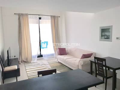 1 Bedroom Flat for Rent in Dubai Marina, Dubai - Fully Furnished | High Floor | Partial Marina View