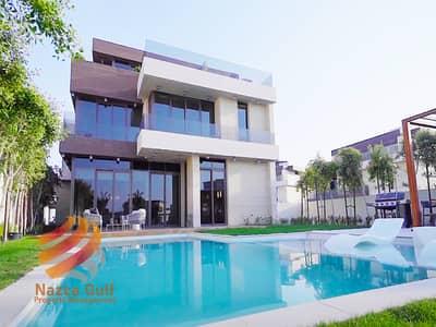 4 Bedroom Villa for Sale in Saadiyat Island, Abu Dhabi - Ultra-Luxury Beachside 4 BR Villa w Unique Style