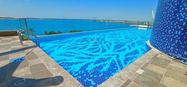 2 Bedroom Flat for Rent in Corniche Road, Abu Dhabi - Spacious & Luxurious 2+1 BHK | Main Corniche Area