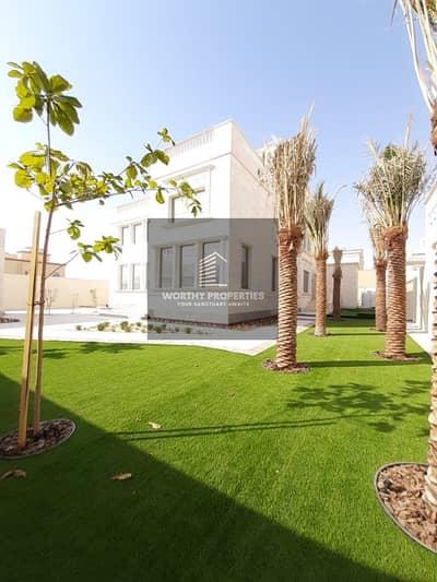 7 Bedroom Villa for Rent in Shakhbout City (Khalifa City B), Abu Dhabi - Stunning VIP villa in Shakhbout