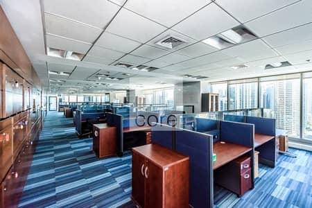 طابق تجاري  للبيع في أبراج بحيرات الجميرا، دبي - Furnished | Full Floor | Close to Metro