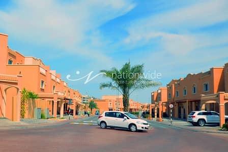 3 Bedroom Villa for Rent in Al Reef, Abu Dhabi - Enjoy Living In This Magnificent Single Row Villa