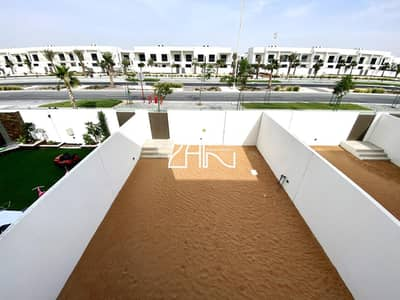 2 Bedroom Villa for Rent in Yas Island, Abu Dhabi - Single Row Large 2+M Brand New in Great Location