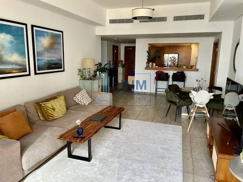 12 RENTED | Sea View | 2 Bedrooms + Maid's Room
