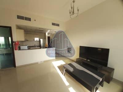 استوديو  للايجار في مدينة دبي الرياضية، دبي - CHILLER FREE IN DEWA | BEST LAYOUT | SKYLINE VIEW | BIG STUDIO