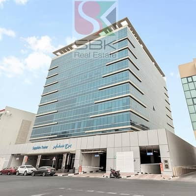 Office for Rent in Deira, Dubai - Office Space in Sapphire Tower in Al khabisi