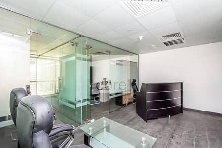 Office for Sale in Jumeirah Lake Towers (JLT), Dubai - Fitted Office | Mid Floor | Prime Location