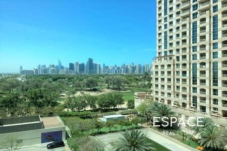 فلیٹ 3 غرف نوم للايجار في ذا فيوز، دبي - Sunroom   Great View   Large Layout   Available July 2021
